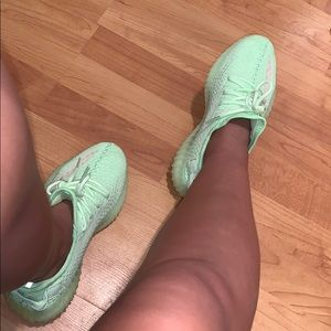 Green Yeezy Boost 350